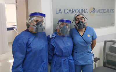 Apertura gradual de servicios en La Carolina Medical IPS